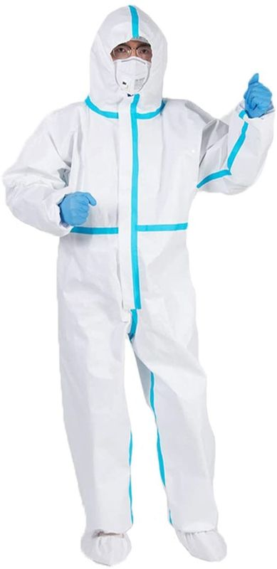 Protective Nonwoven Full Body Disposable Coveralls