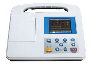 Handheld Ecg Monitor Electrocardiography Machine For Hospital Use
