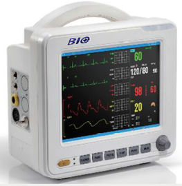 चीन 8 Inch High Resolution Multipara Patient Monitor with Color LCD Display फैक्टरी
